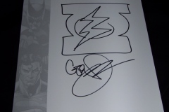 Geoff Johns Autograph
