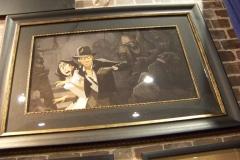 Animated Indiana Jones Painting