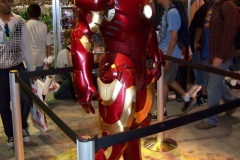 Life-Sized Iron Man Movie Display