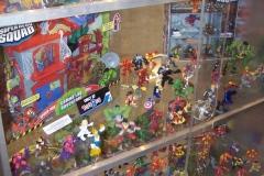 Superhero Squad Display
