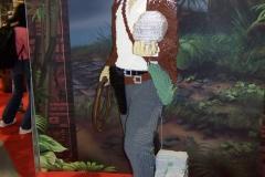 Life-Sized Lego Indiana Jones