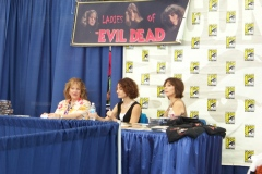 The Ladies of 'The Evil Dead' Booth
