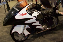 Replica of the 60's Bat-Cycle