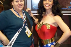 Nikki and Wonder Woman