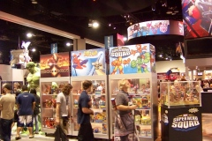 The Hasbro Booth