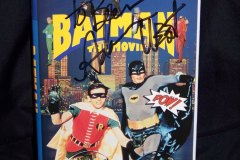 Signed 'Batman: The Movie' VHS
