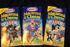 DC Superheroes Macaroni & Cheese