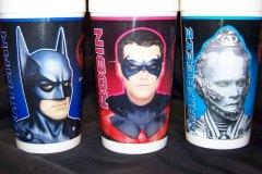 Batman & Robin Cups