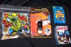 Various Superhero Items