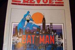 Batman on the cover of Comics Revue