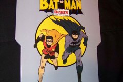 Batman Fold & Send Cards