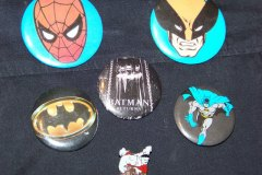 Various Superhero Pins